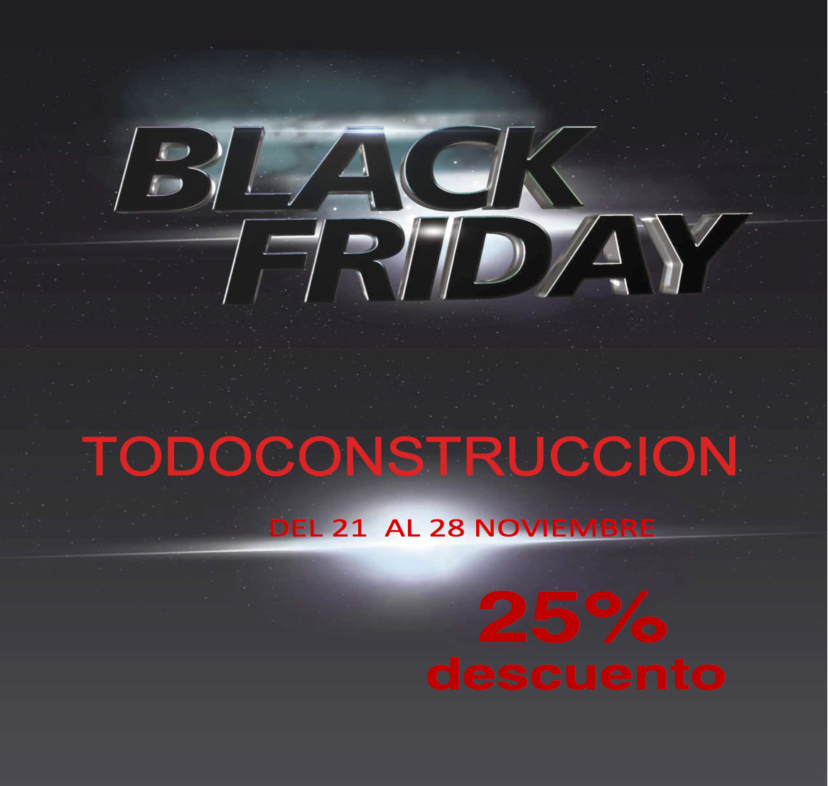 BLACK FRIDAY TODOCONSTRUCCION 2016