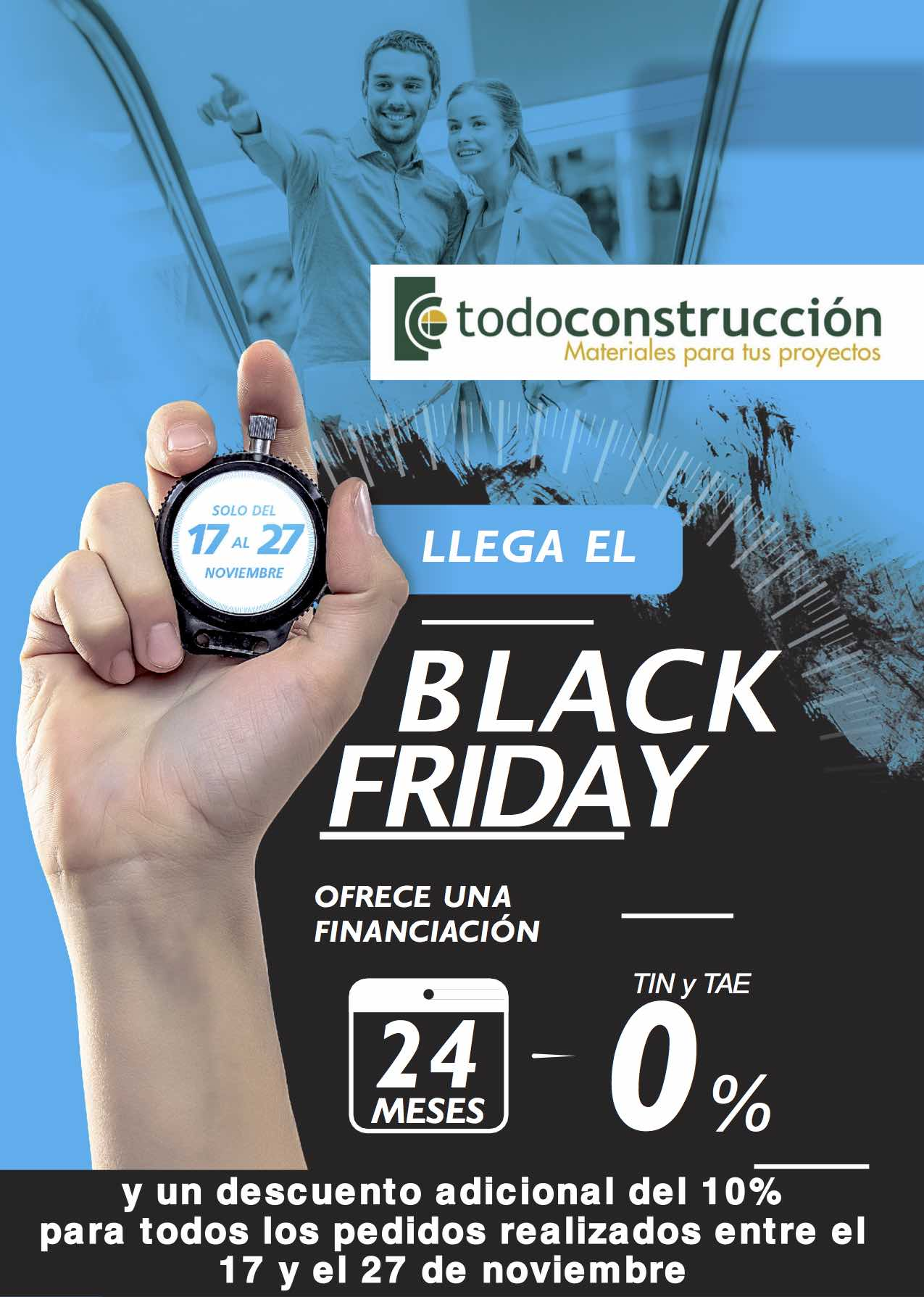 BLACK FRIDAY PROMOCIÓN TODOCONSTRUCCIÓN