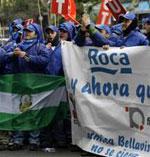 ROCA DESPEDIRÁ A 713 TRABAJADORES DE BARCELONA, SEVILLA Y MADRID