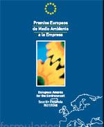 NUEVA CONVOCATORIA DE LOS PREMIOS EUROPEOS DE MEDIOAMBIENTE A EMPRESAS