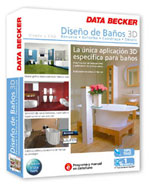 "DATA BECKER PRESENTA SU SOFTWARE ""DISEÑO DE BAÑO 3D"""