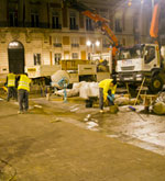 MADRID YA CUENTA CON PAVIMENTO INTELIGENTE