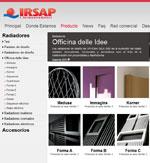 IRSAP DESARROLLA UNA NUEVA PÁGINA WEB