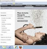 NUEVA WEB DE HANSGROHE PARA PROFESIONALES