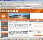 NUEVA IMAGEN DE LA WEB DE PERSAX